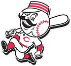 "Cincinnati Reds MLB Color Die Cut Vinyl Decal - You Choose Size 3"" - 34"" on Ebay"