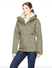 Columbia Womens 1X Sleet To Street Interchange Jacket Removable Liner Sage