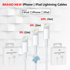 OEM apple lightning cables 3 6 10 ft USB charger adapters for iphone 5s 6s 7 8 X