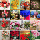 Flower Art Paint By Number Kit DIY Acrylic Oil Painting On Canvas Wall Art Decor