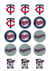 Minnesota Twins Edible Print Premium Cupcake/Cookie Topper Frosting Sheet 2 Size on Ebay