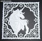 """TATTERED LACE FAIRYTALE DIE CUT TOPPERS ~ """"UNICORN TAPESTRY"""""""