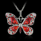 Opal Bijoux New Pendant Gift Long Newly Jewelry Butterfly Necklace Fashion