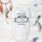 Need an Ark I Noah Guy Onesies Hat Baby Shower Gift Set...