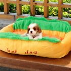 Hot Dog Design Pet Dog Bed Removable and Washable Pet Mat Dog House
