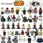 Star Wars Figures Jedi Chewbacca Han solo Darth Vader leia Lego compatible $2.39 USD on eBay