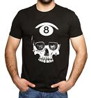 Unisex Billiards 8 Ball Skull $16.99 USD on eBay