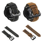 Genuine Leather Wrist Band Buckle Strap Bracelet For Fitbit Versa Smart Watch image