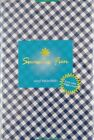 Gingham Small Check Bias Pattern Vinyl Flannel Bk Tablecloth Various Color/Sizes