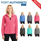 Port Authority Ladies Coat Womens Fleece Full Zip Jacket Microfleece L235