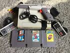 NINTENDO NES Console System Bundle Games Super Mario 1 2 3 TRILOGY Duck Hunt Gun
