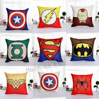 marvel comic cushions - Decorative Throw Pillow Case America Marvel Superhero Comic Cushion Cover CCC