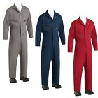 NEW Red Kap Men's Zip-Front Cotton Coveralls Industrial Work Uniform CC18