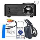 1080 Mini Projector LED Multimedia Home Theater USB Mobile Hard Disk TF Card UK