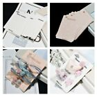 20pcsl Hair Clip Card Paper Jewelry Display Cards Blank Packaging Blank Card