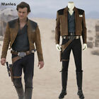 Solo A Star Wars Story Han Solo Costume Cosplay Halloween Fancy Dress Men Suits $229.51 USD on eBay