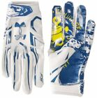 new youth/boys M under armour UA F5 football gloves 1300846-054 honor/courage