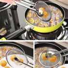 Filter Spoon Multi-functional Food Kitchen Salad BBQ Filter With Clip Oil-Frying
