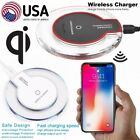 Qi Wireless Charger Charging Pad for Apple iPhone X (10) 8 Google Nexus 10 7 6 5