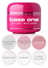 Kyпить Base One Clear Cover Diamond Touch Thick French Pink UV Gel Nail BUILDER Silcare на еВаy.соm