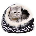 Super Warm Cat Cave Bed Dog House Puppy Kennel Shelter for Kitty Rabbit and Nest