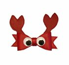 3D Vinyl Crab Hair Bow