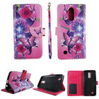 Folio Case Wallet For LG K20 Plus Harmony Kickstand PU Leather ID Slot Cover