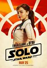 15 Solo A Star Wars Story Movie Emilia Clarke-Silk Art Poster $7.75 USD on eBay