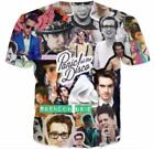 Women Men Panic at the Disco Brendon Urie Print Casual 3D T-Shirt Short Sleeve