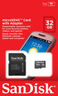 Sandisk SD Card 8/16/32/64/128 GB Samsung micro SD Kingston Memory Adapter Adata