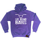 Cycling Hoodie Bmx Life Behind Bars hoody top windcheater funny Birthday HOODY