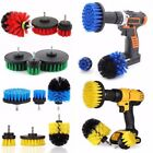 3Pcs/Set Tile Grout Power Scrubber Cleaning Drill Brush Tub Cleaner Combo Tools