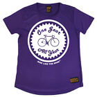 Ladies Cycling One Gear All Year Breathable T SHIRT DRY FIT R NECK T-SHIRT