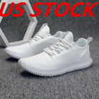 Fitness Mens Tennis Sneakers Shoes Breathable Gym Mesh Lightweight Athletic Size
