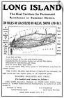 Wall Decal entitled Advertisement For Real Estate On Long Island, New York, 1901 <br/> Direct from Great BIG Canvas! Sizes are in inches