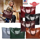 Women Leather Tote Bag Handbag Lady Purse Shoulder Messenger Satchal Bags T36 image