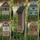 WOODEN BAMBOO INSECT BUGS GARDEN HANGING BEES HOTEL HOME LADYBIRD BOX HOUSE NEST