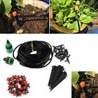 Water Irrigation Kit Set Micro Drip Hose Mist System Automatic Plant Garden Tool