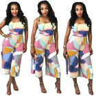 women club outfits - New Women Off Shoulder Bodycon Party Jumpsuit Romper Club Wide Leg Pant Outfits