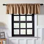 Natural Burlap Primitive Country Cabin Window Valance