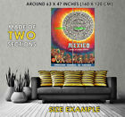 100860 Mexico Aztec Tablet and Warriors Travel Decor WALL PRINT POSTER UK