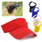 Unisex Adjustable Outdoor Snapback Sun Hat Sports Visor Baseball Tennis Golf Cap