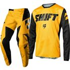 SHIFT WHITE LAB ADULT YELLOW 2018 MOTOCROSS KIT JERSEY PANT DOWNHILL BMX NOT FLY