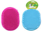 Double Sided Pet Dog Cat Grooming Silicon Hair Brush Massage Dirt Remover