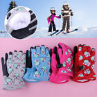Waterproof Thermal Winter Sport Snow Ski Warm Gloves for 2-4 years Boy Girl Kid