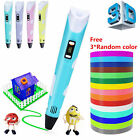 3D Printing Pen 2nd Crafting Doodle Drawing Arts Printer Modeling PLA/ABS BEST