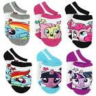 Planet Sox My Little Pony Girls 6 pack Socks Toddler/Little Kid/Big Kid/Teen