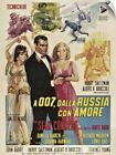Wall Decal entitled From Russia with Love - Vintage Movie Poster $47.99 USD on eBay
