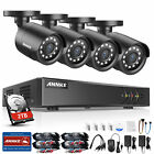 ANNKE 5in1 1080P Lite 8CH CCTV DVR HD 2MP 2000TVL IR Home Security Camera System