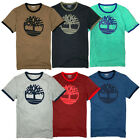 Timberland Men's Short Sleeve Tree Logo Ringer T-Shirt A1LCB image